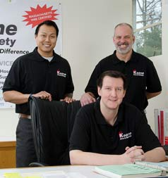keane Fire & Safety customer service team