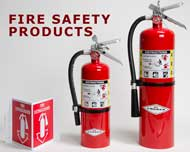 A full line of Fire Safety Products are available at Keane Fire & Safety