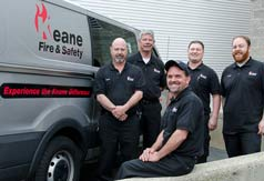 Keane Fire & Safety sells and services Fire protection equipment