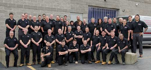 Keane Fire & Safety Employees