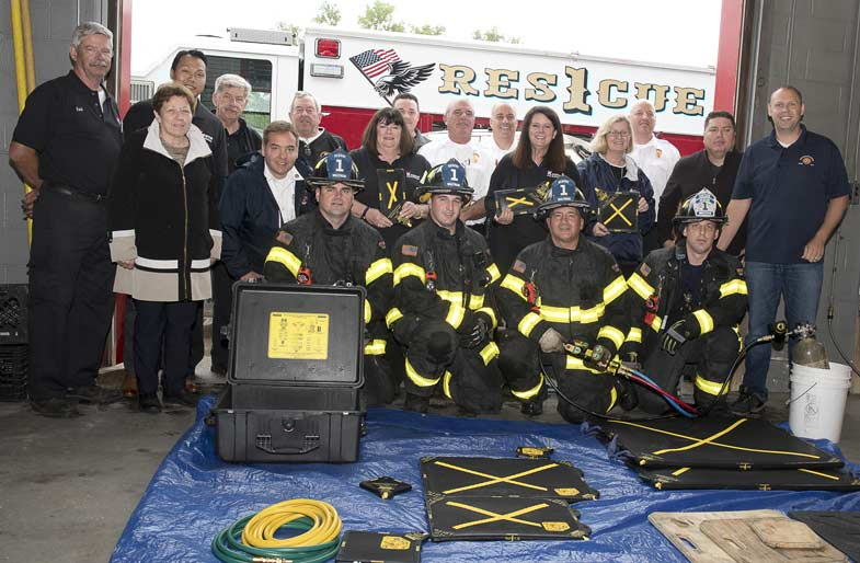 Waltham Fire Department recieved a donation from Keane Fire & Safety